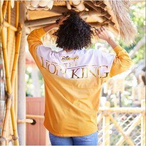 Disney The Lion King Simba Spirit Jersey Gold XXL